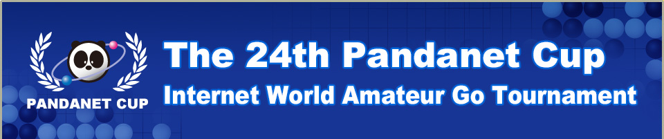 The 24th Pandanet Cup Internet World Amateur Go Tournament concurrently